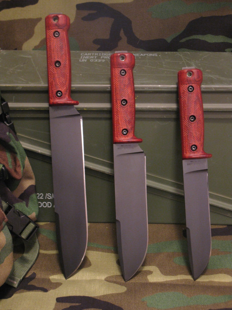 Prototype Utility Tool Knives from 2010-2011