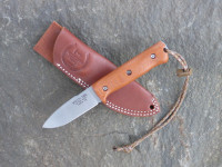 UTK0097 Stonewashed, Handle 1 in Natural Micarta with Standard Sheath