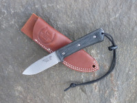 UTK0097 Stonewashed, Handle 3 in Black Micarta with Standard Sheath