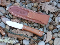 Utility Tool Classic Wilderness Knife prototype, left side with sheath back