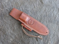 "Utility Tool – AE Nelson ""Classic"" Leather sheath with Handi-Fire Tool loop. This sheath is unique due to its ability to hold the UTK0151 in either left or right hand carry positions."