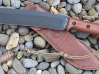 "UTK0255 10"" blade pre-production Field Knife and Sheath (Left Side)"