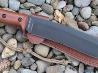 "UTK0255 10"" blade pre-production Field Knife and Sheath (Right Side)"
